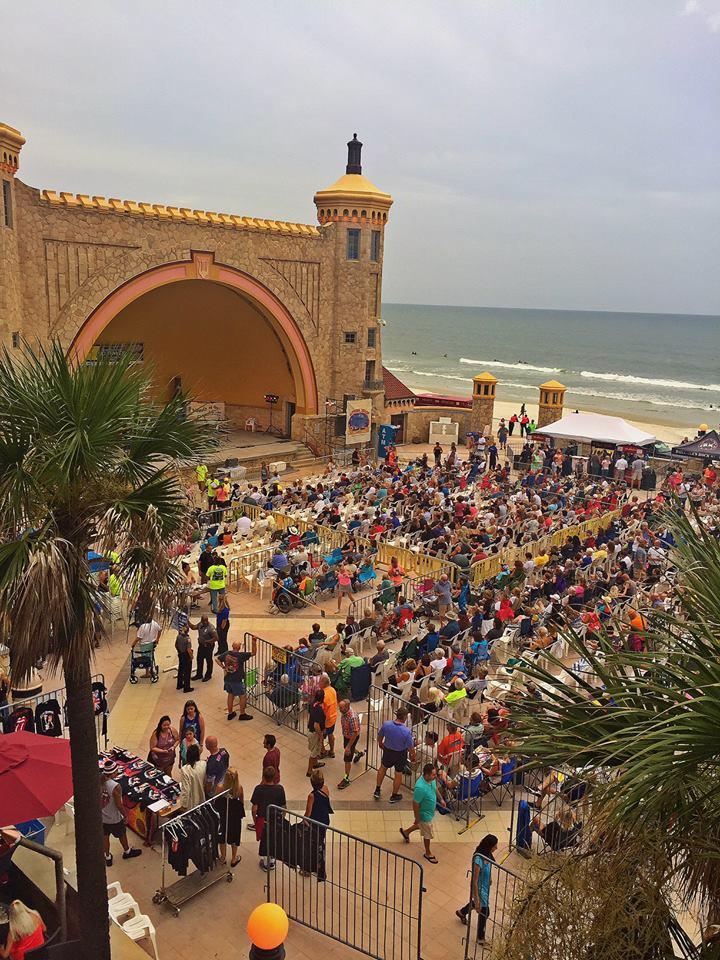 Daytona Beach Concert At Band Shell