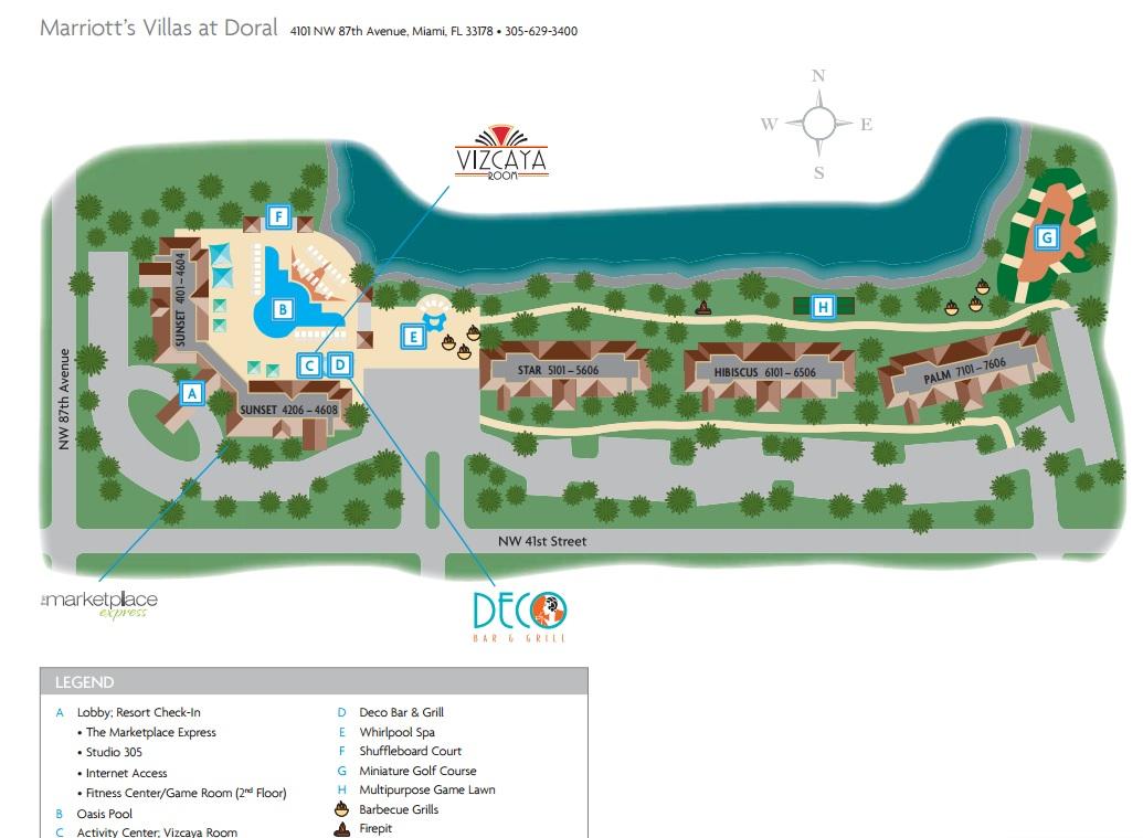 Marriott Villas Miami Florida