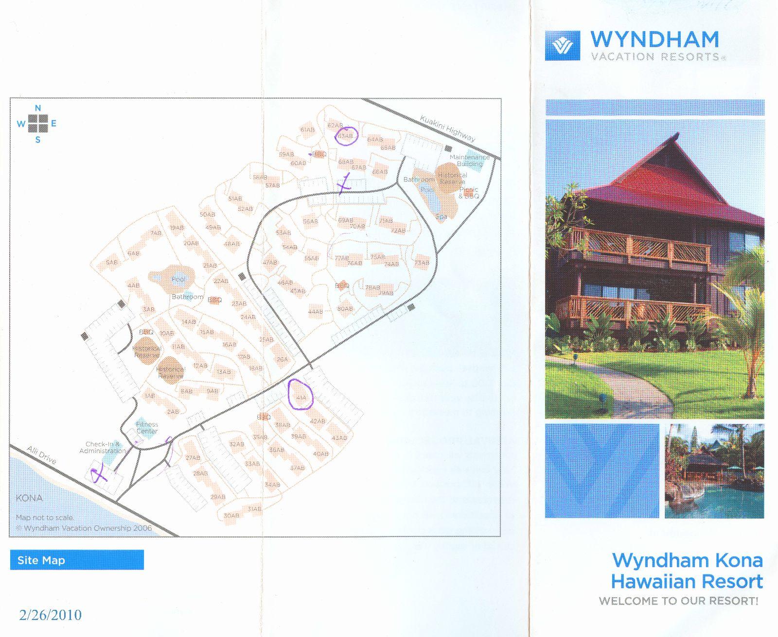 Tug wyndham kona hawaiian resort for The wyndham