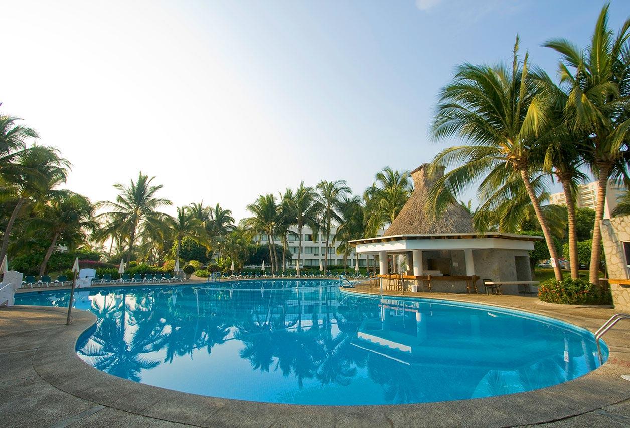 ... Mayan Sea Garden Acapulco Image Design