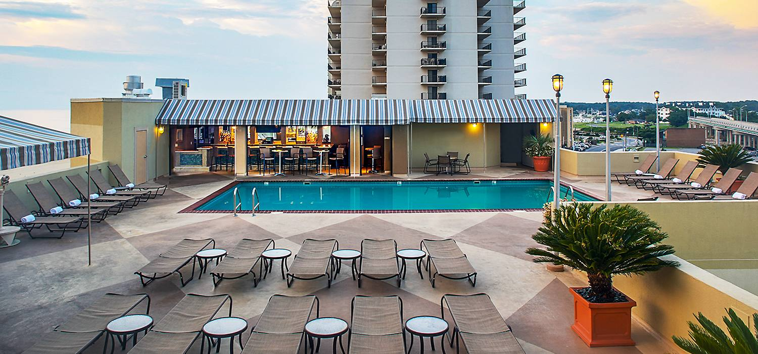 Beach Quarters Virginia Beach Timeshare 1 Bedroom Oceanfront Week 41 Free 100 Ebay